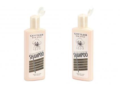 Šampón GOTTLIEB s norkovým olejem vyvinutý speciálně pro psy plemene pudl. Objem 300 ml.
