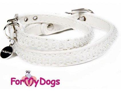 Obojek pro psy s perličkami For My Dogs