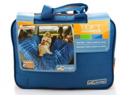 Luxusní potah zadních autosedadel při cestování se psem. Voděodolné provedení, odolný ripstop materiál. Rozměry 140 × 110 cm.