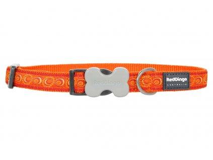 Obojek pro psa RED DINGO – Cosmos Orange