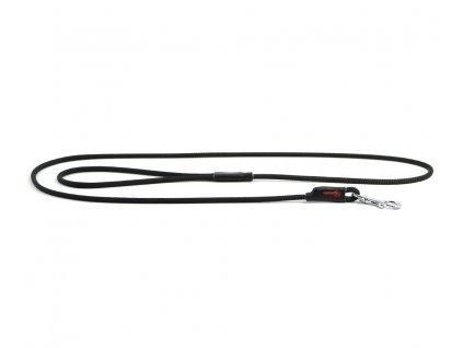 Extra kvalitní, v ČR ručně vyráběné vodítko pro malé a střední psy od TAMER. Pevná délka 1,45 m, tloušťka lanka 6 mm, karabina 6 cm. Barva černá.