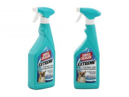Extra silný přírodní odstraňovač skvrn a pachu na bázi enzymů. Je ideální pro běžné použití, do tepovačů i na předčištění prádla při praní v pračce. Objem 750 ml.