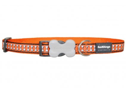 Reflexní obojek pro psa, Oranžový