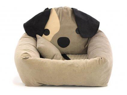 Autosedačka pro psy – pelíšek pro pohodlné cestování a ochranu autosedadel před psími chlupy, nečistotami a poškozením.