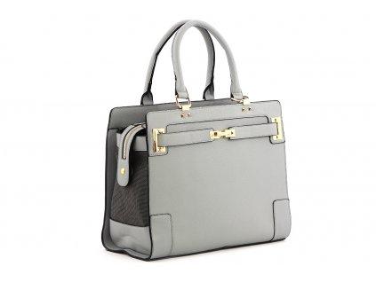 Luxusní taška – kabelka na psy až do 6 kg z kolekce Urban Pup, řada LIZZIE. Vykládané zpevněné dno, precizní zpracování, rozměry 36 × 17 × 29 cm.