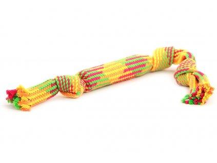 Oblíbená hračka pro psy – přetahovadlo vyrobené z měkkého bavlněného provazu. Vhodné pro střední a větší psy, délka 57 cm.
