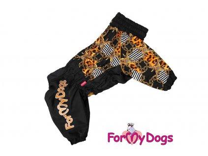 Obleček pro fenky westíků – teplý zimní overal JEWELS od For My Dogs z voduodpudivého materiálu.