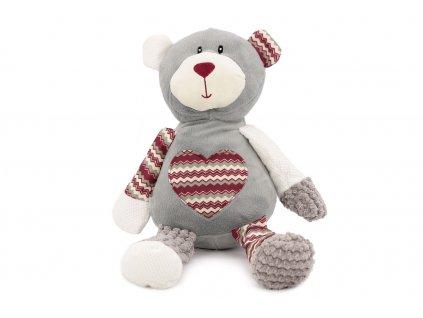 Hračka pro psy od ROSEWOOD – plyšový medvěd. Hračka je vyrobená z měkoučkého plyše, je vycpaná a při stisknutí píská. Velikost cca 40 cm.