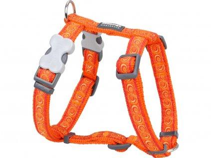 Postroj pro psy Cosmos Orange – oranžový
