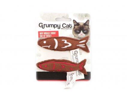 Hračka pro kočky ve tvaru malých rybek. Hračky jsou plněné kvalitním catnipem, velikost cca 10 cm.