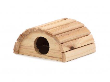 Domeček pro malé hlodavce WOODEN HOUSE