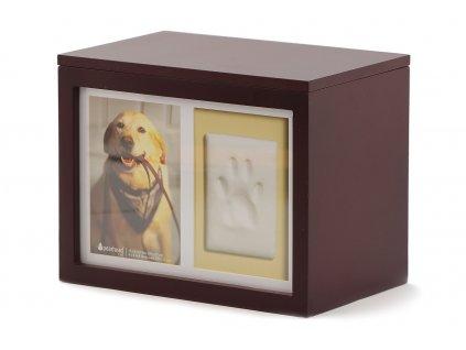 BOX s rámečkem na otisk tlapky Pearhead