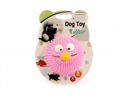 Hračka pro psy EBI, jahodový míček