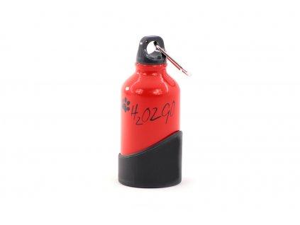 Láhev na vodu pro psy H2O2GO červená malá