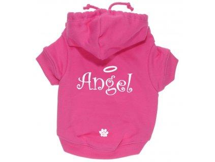 Mikina pro fenky K9 Angel, růžová