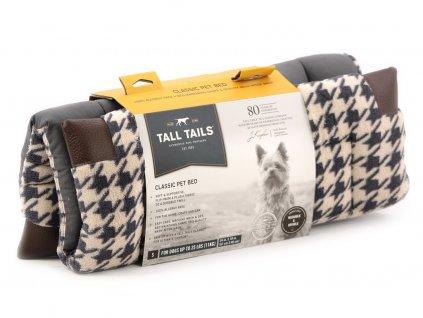 Podložka pro psy TALL TAILS Houndstooth Fleece