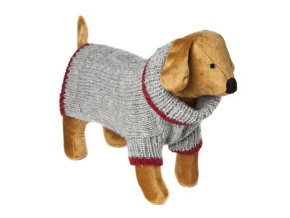 Svetr pro psy DOGGY THINGS Hand Knit Cable