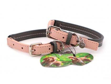 Obojek pro psy Baby Pink růžový