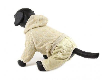 Oblečky pro psy – bavlněný overal pro psy a fenky For My Dogs, prošívaný