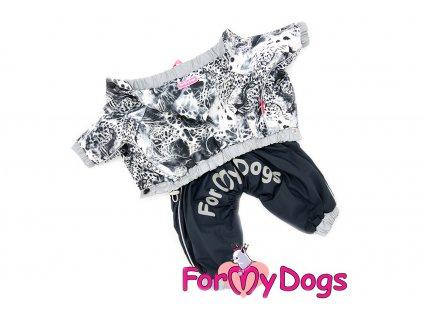 oblecek pro psy Obleček pro psy pláštěnka B&W LEO