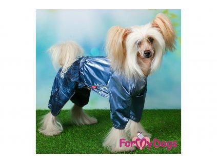 Obleček pro psy pláštěnka DARK SILVER 3