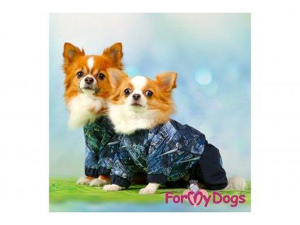 Obleček pro psy pláštěnka BLUE DENIM 8