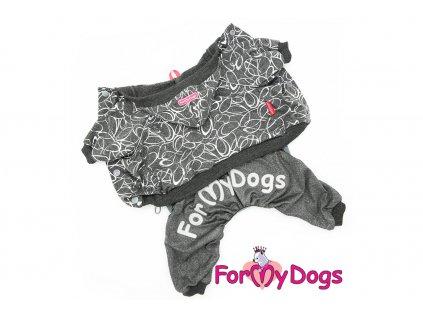 Obleček pro psy i fenky overal GREY SHAPES