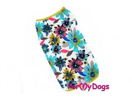Obleček pro psy i fenky tričko FLOWERS