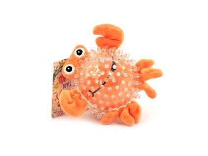 Hračka pro psy míček krab