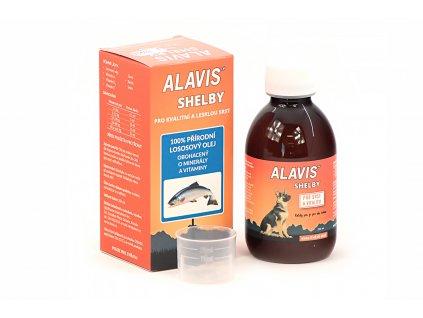 Lososový olej pro psy ALAVIS SHELBY