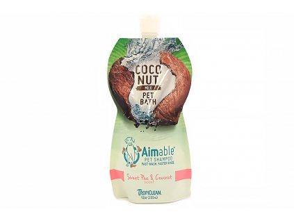 Šampón pro psy TROPICLEAN hrachor vonný a kokos