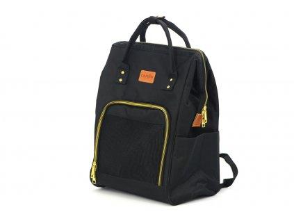 Batoh a taška na psa 2v1 černá