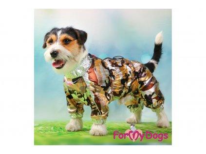 Obleček pro psy pláštěnka GOLD CAMOUFLAGE 4