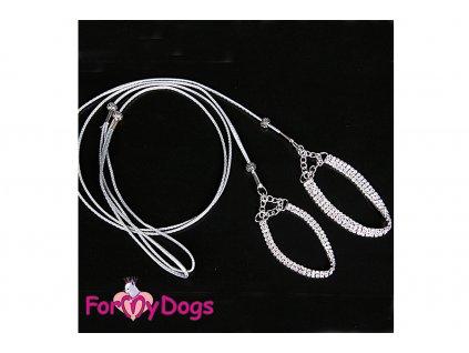 Výstavní vodítko pro psy FMD Silver Crystals