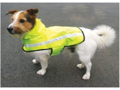 Obleček pro psy i fenky – reflexní pláštěnka Rosewood Rain Mac