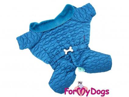 Obleček pro psy zimní overal PUZZLE