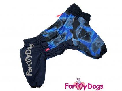 Obleček pro větší psy zimní overal BLUE SMOKE