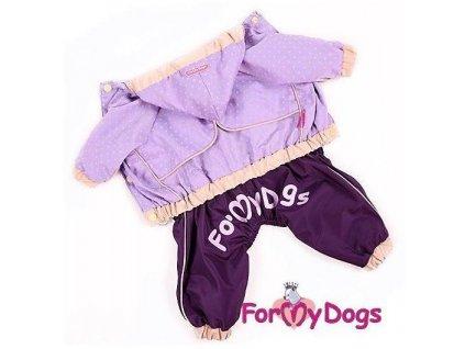 Overal, pláštěnka pro psy For My Dogs, fialová