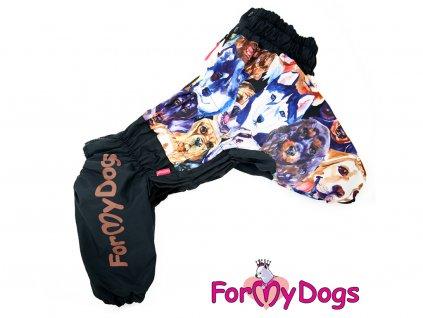 Obleček pro psy westíků zimní overal DOGS