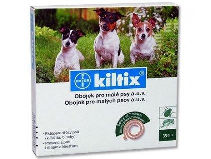 Kiltix antiparazitární obojek k ochraně psů před napadením blechami a klíšťaty