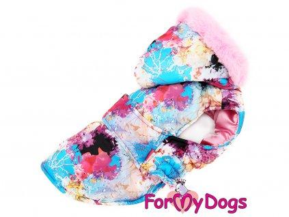 Obleček pro psy i fenky zimní bunda CAPARISON PINK