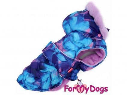 Obleček pro psy i fenky zimní bunda CAPARISON PURPLE