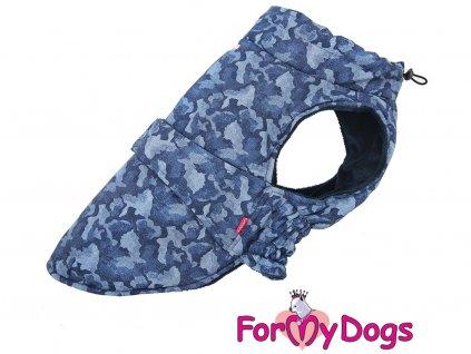 Obleček pro větší psy i fenka bunda CAPARISON BLUE