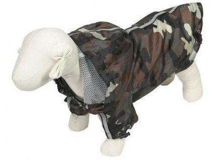 Lehká nepromokavá maskáčová bunda pro psy i fenky