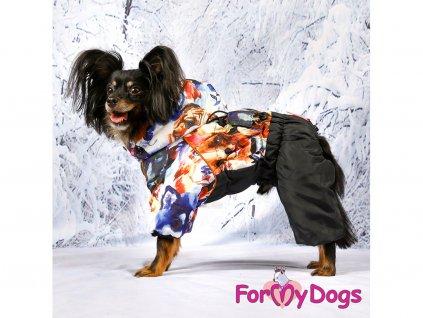 Obleček pro psy zimní overal FMD DOGS 2