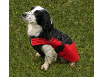 Obleček pro psy i fenky – nepromokavý kabát Red Water Resistant
