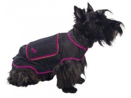 Pláštěnka pro psy a fenky Bobby, černá