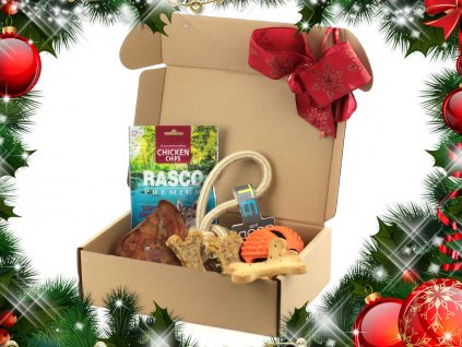 Vánoční BOX pro velké psy