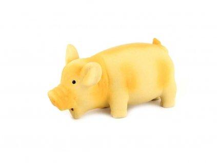 Latexová hračka pro psy od ROSEWOOD – Oiking Pig – kvičící prasátko