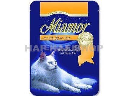Miamor Filet Kuře+Tuňák Kapsička 100g
